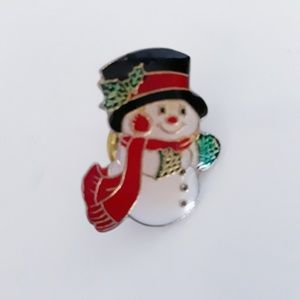 Vintage Frosty the Snowman Pin